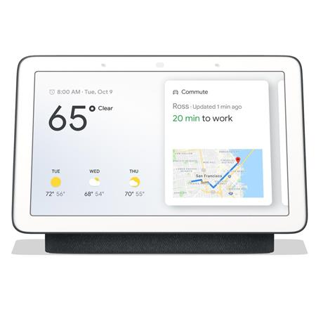 picture of google home hub running fuchsia