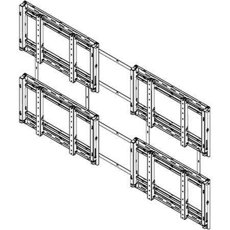Sharp PN-PW220 2x2 Landscape Video Wall Mounting System PN