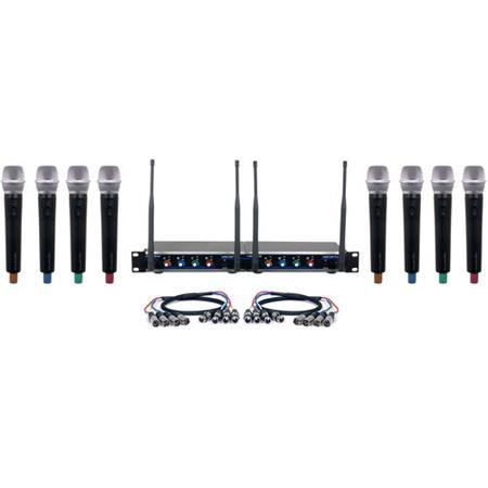 VocoPro Digital-Acapella-8 Eight-Channel UHF Digital
