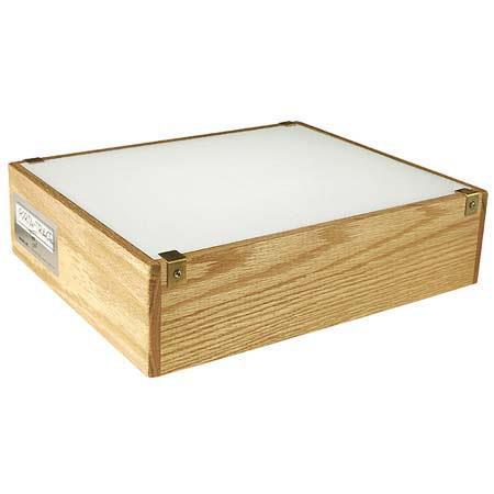 Porta Trace 12142wc 12x14in Wood Light Box Solid Oak 12142wc