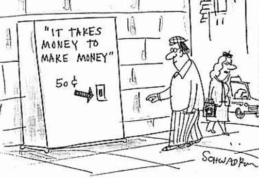 Perpetual Adoration » It takes money to make money