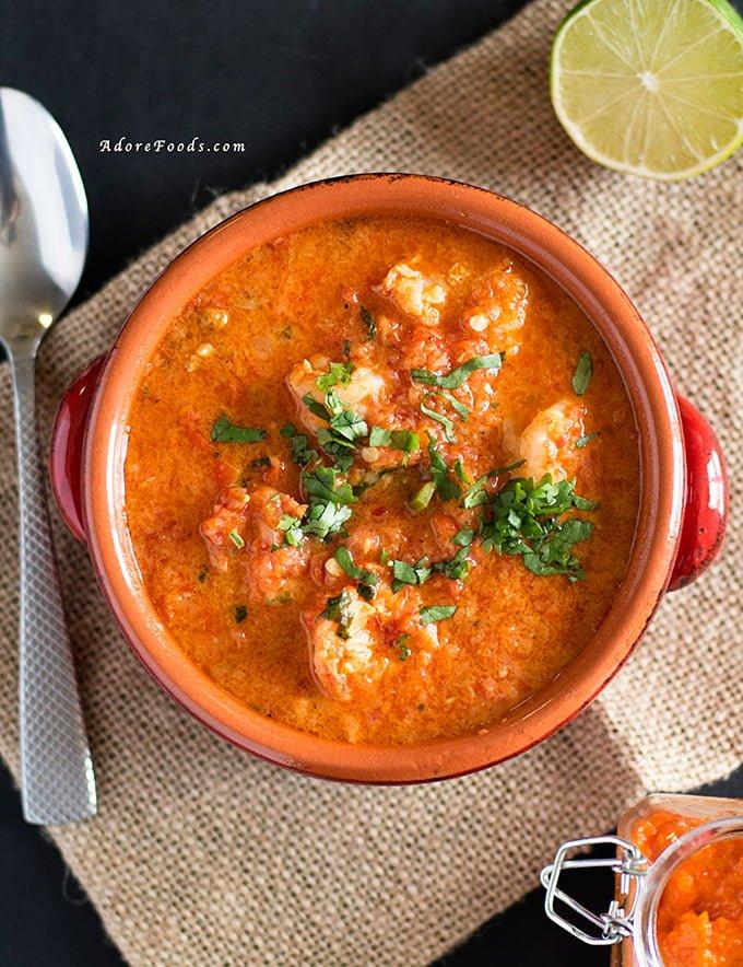 Brazilian Seafood Stew Moqueca de Camaroes