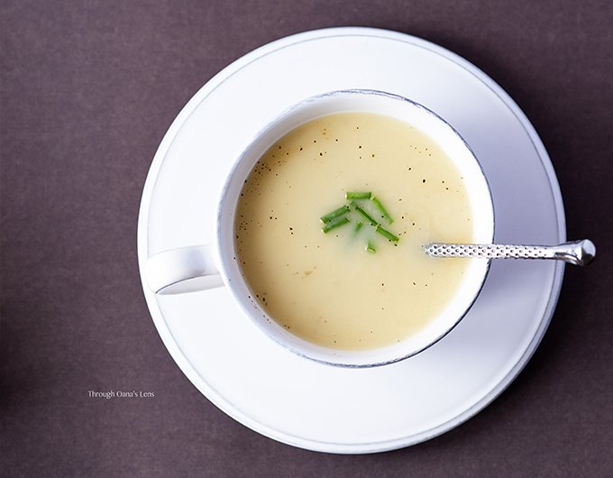 Potato and Leek Soup - Summer version recipe