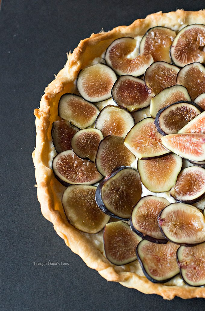 Fresh Fig Tart with Orange Mascarpone Filling