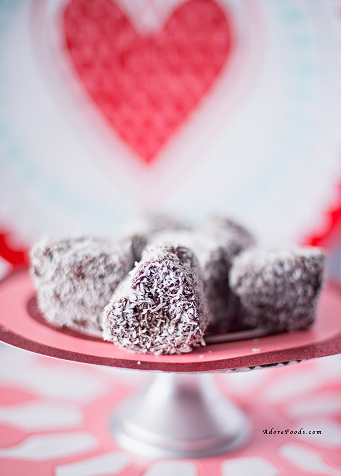 how to make lamingtons without eggs