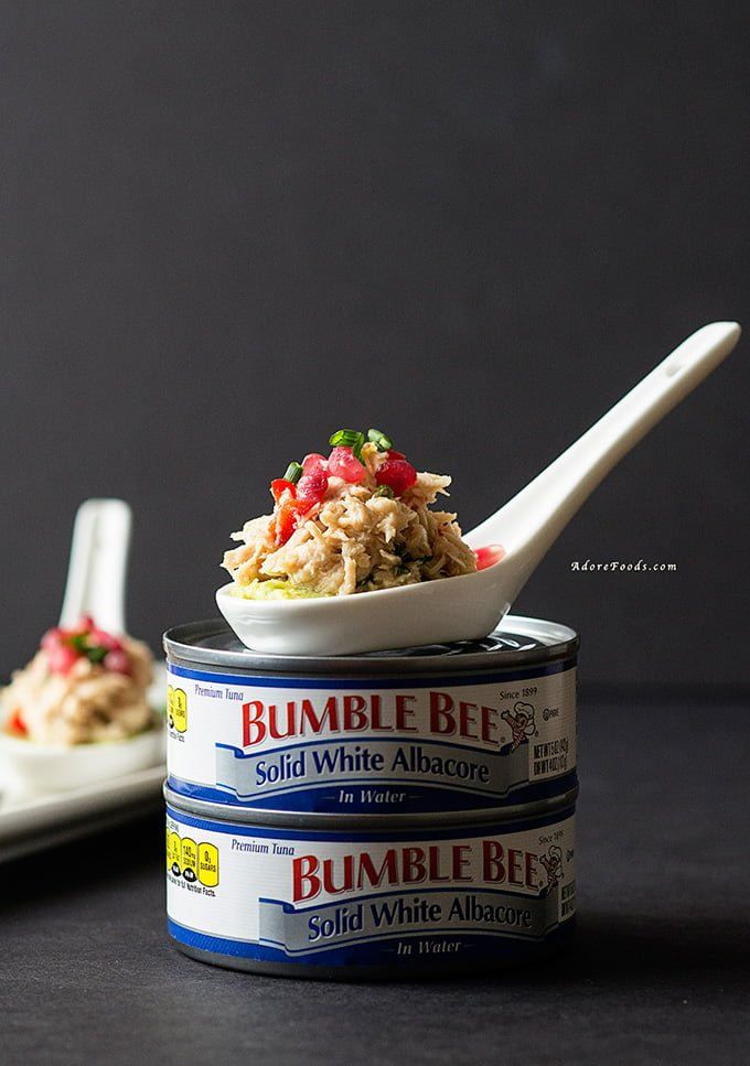 Spicy Tuna and Pomegranate Salad