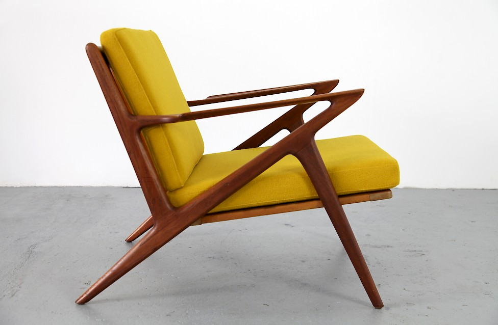 folding z chair outdoor with canopy by poul jensen for haslev no 2 adore modern