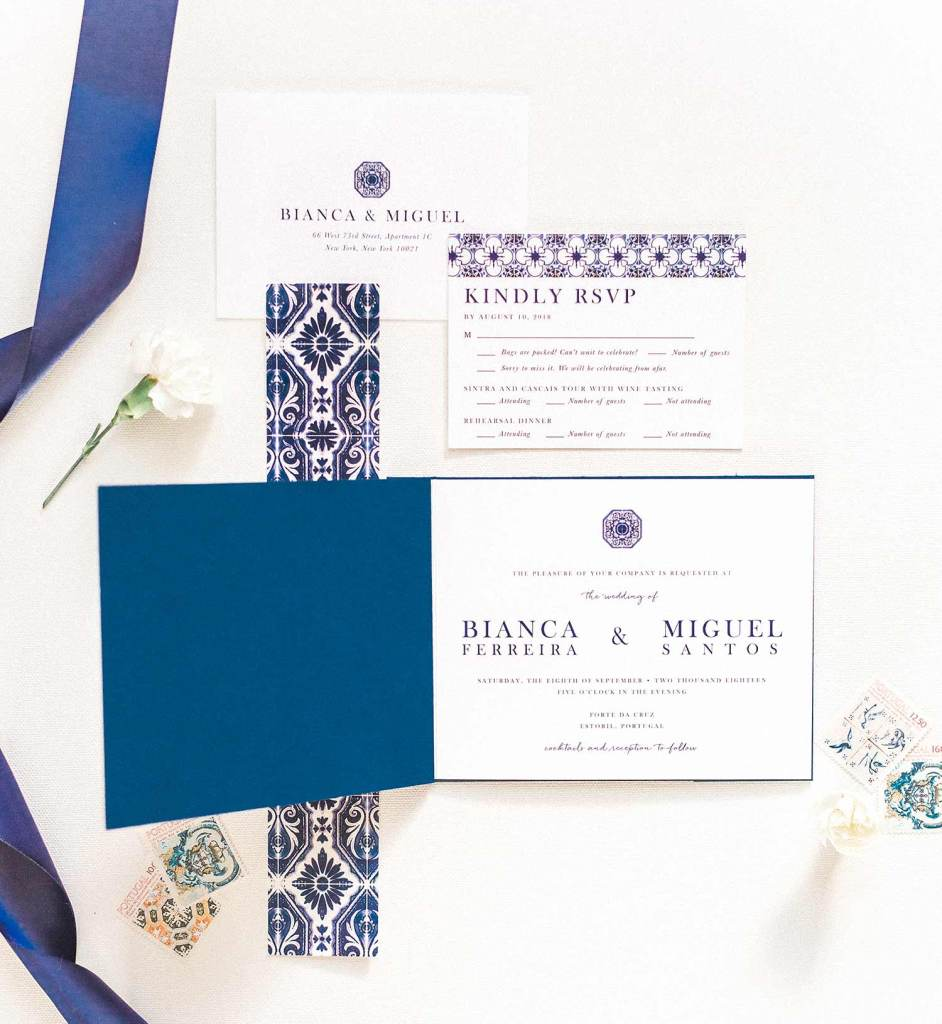 One Of A Kind Wedding Invitation Booklet Style Invite