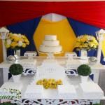 Aluguel Decoração Branca de Neve Festa Fantasia 15 Anos
