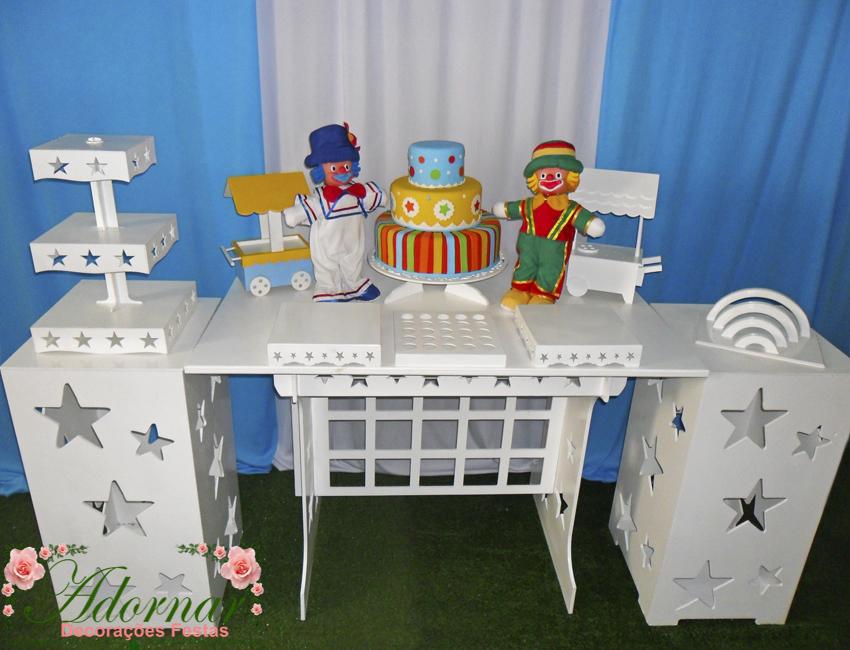 Decoração Kit Provençal Festa Infantil Patati Patata