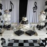 Aluguel Decoração Tema Musica Com Notas Musicais