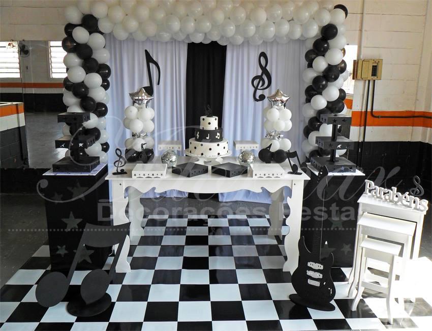 Decoração Musical Aniversário e Eventos
