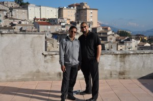 Fr. Biju and Fr. in Anagni Italy