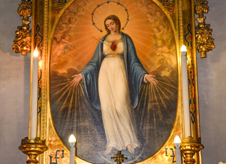 The Clerics Regular Minor and the Immaculate Heart of Mary – Adorno Fathers