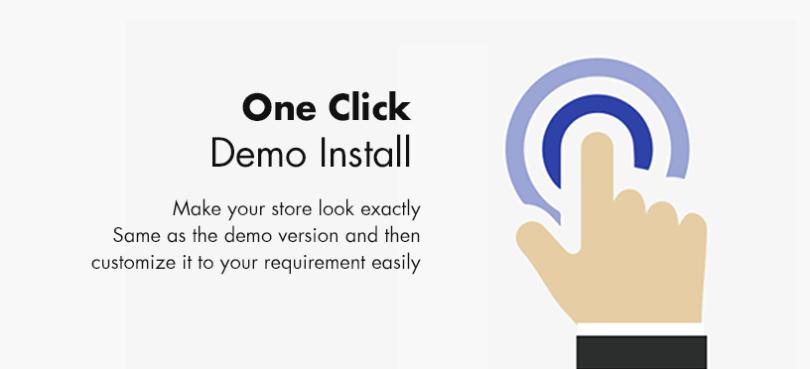 One Click Demo Install