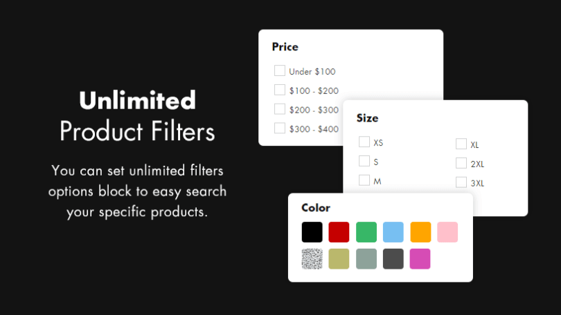 Unlimited Product Filters