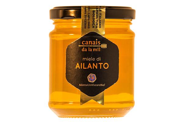 barattolo miele di ailanto