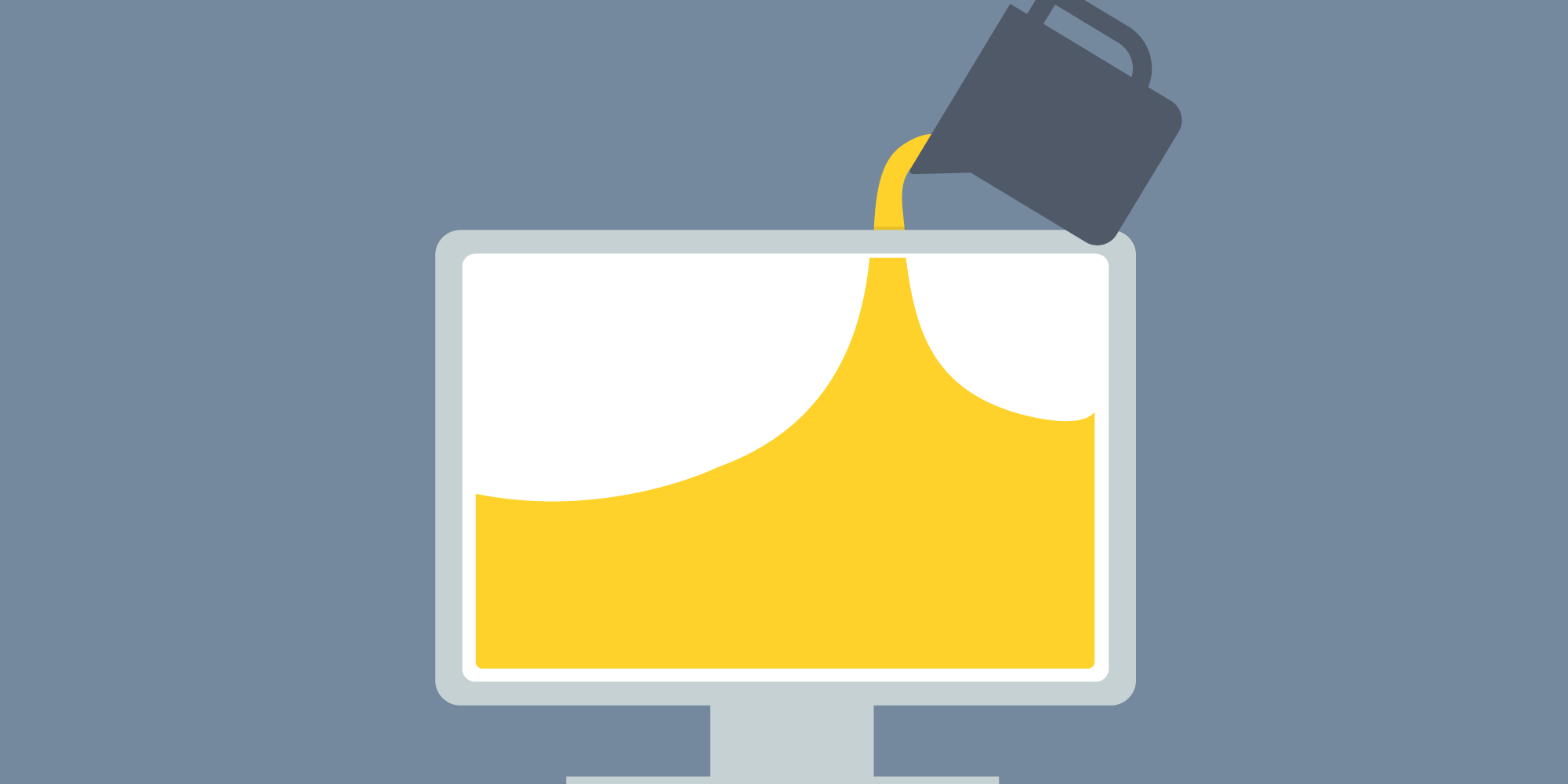 The web development process, a content first approach.