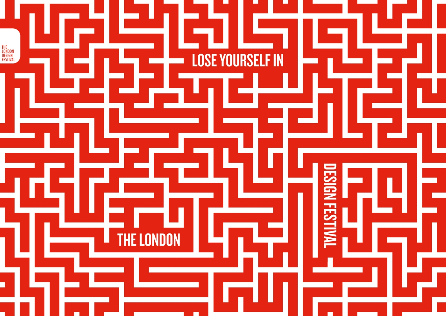 Maze for the London design festival