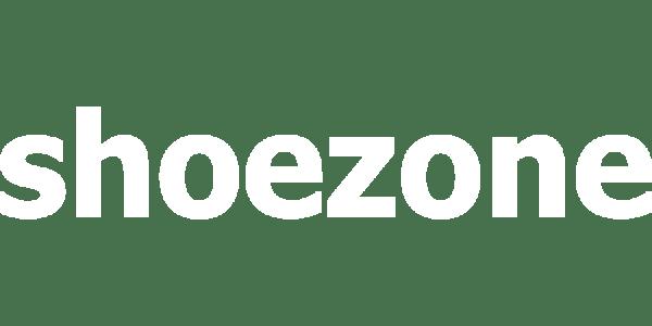 Logo for Shoezone, client of a dozen eggs