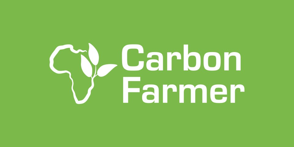 Carbon Farmer logo, eco-friendly farming within Tanzania.