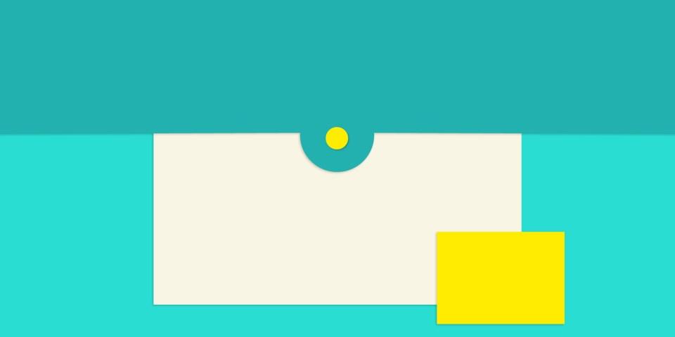 What is material design? Half way between flat and skeuomorphic
