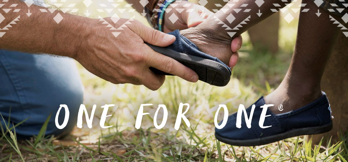 TOMS One for one campaign