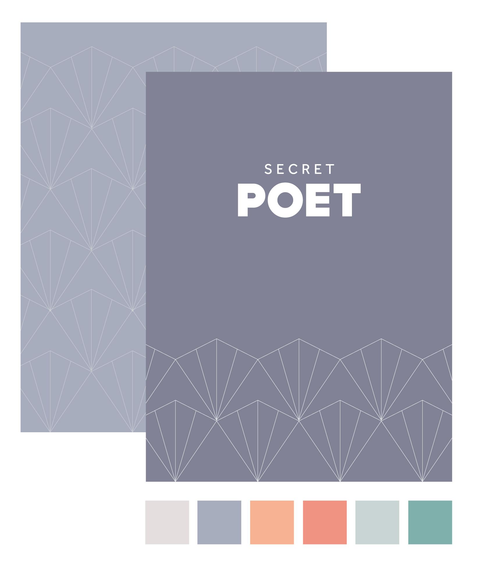 Secret Poet colour palette