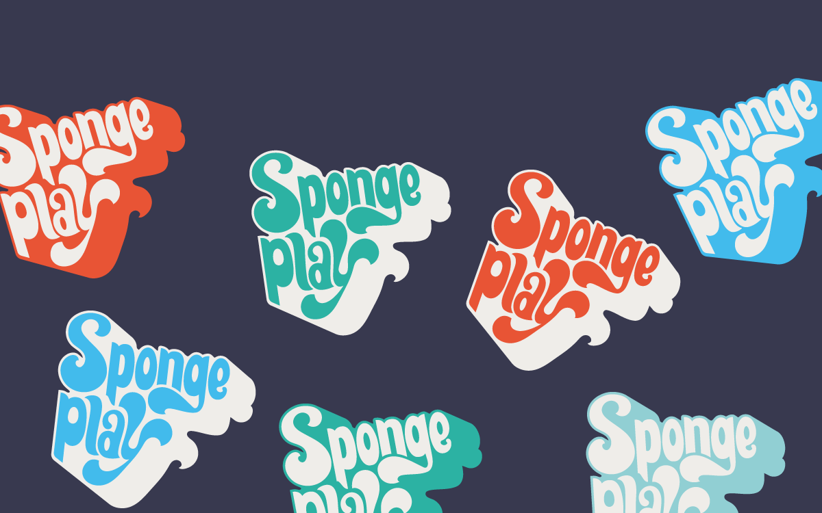 Sponge Play branding from a dozen eggs