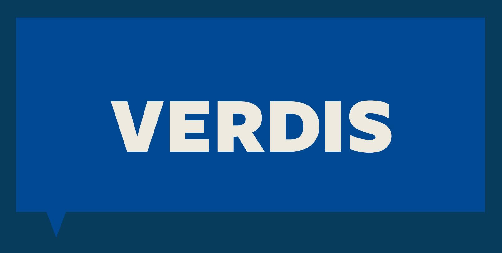 VERDIS logo