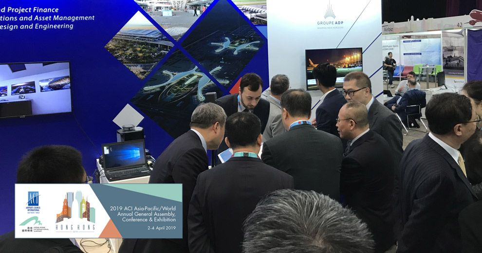 ACI Asia & Pacific/ World general assembly and exhibition 2019 is happening now! | ADP Ingénierie
