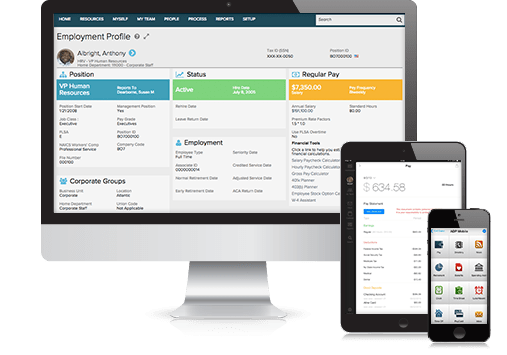 Business Payroll and HR Products