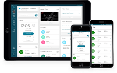 ADP Mobile Solutions  Payroll App
