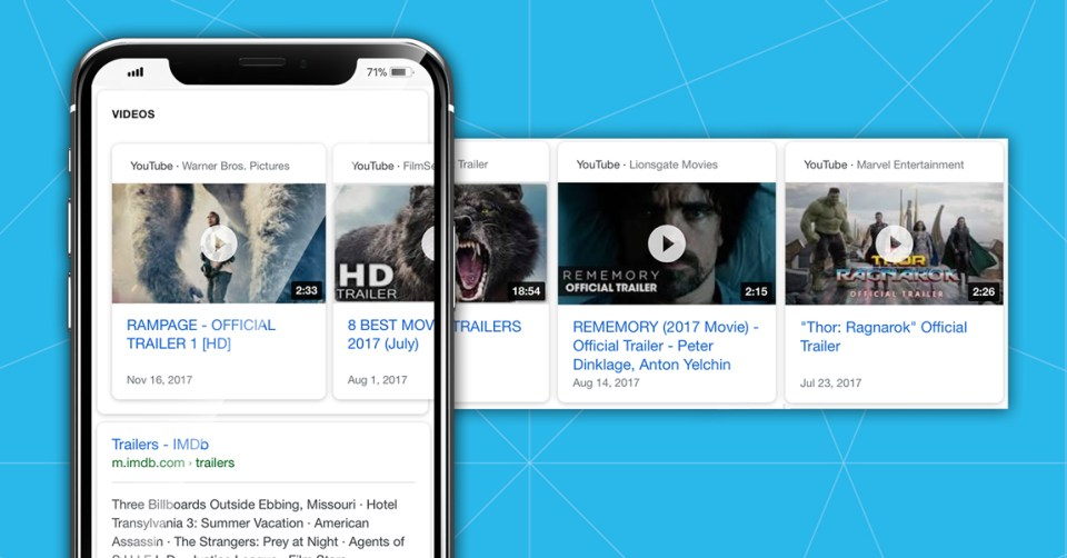 The Video Carousels Algorithm Update