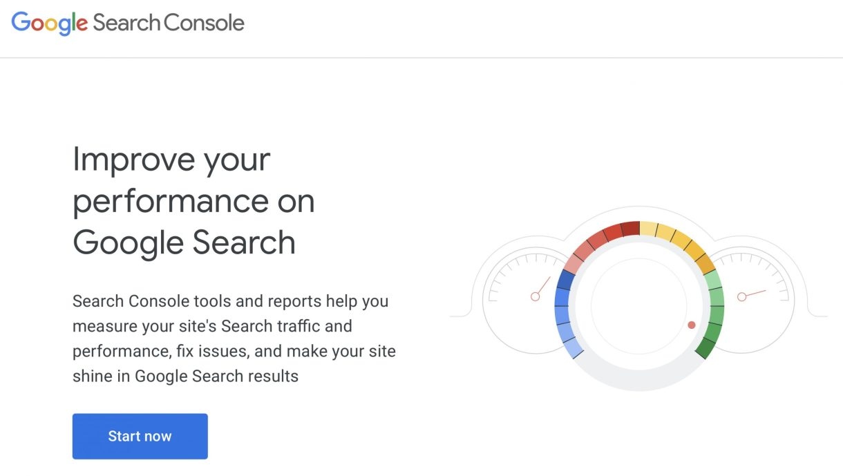 Google Search Console Graphic