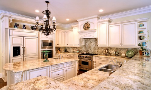 granite kitchen countertops pictures retractable faucet orlando adp surfaces custom golden oak countertop with backsplash by