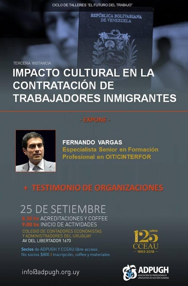"""""""Impacto cultural en la contratación de trabajadores inmigrantes""""#futurodeltrabajo"""