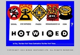 Hotwired's Homepage from 1994