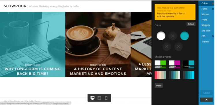 good wordpress theme options