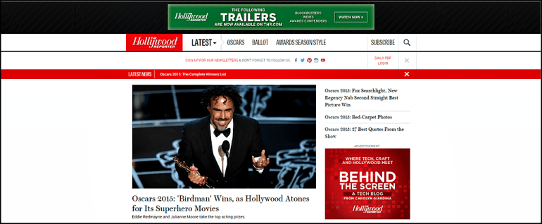 DoubleClick for Publishers The Hollywood Reporter Case Study