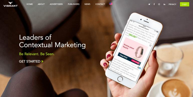 VibrantMedia ad network