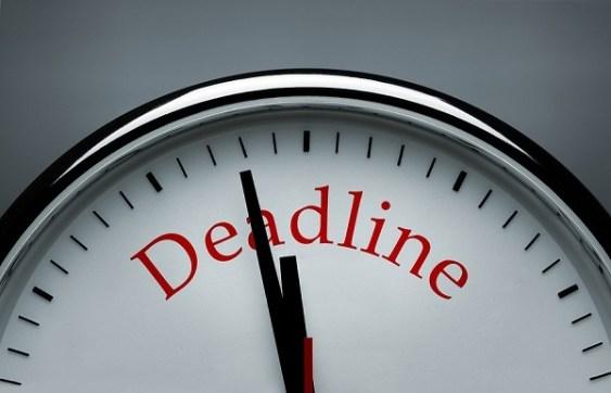 deadline clock image
