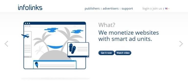 AdSense Alternatives: Infolinks