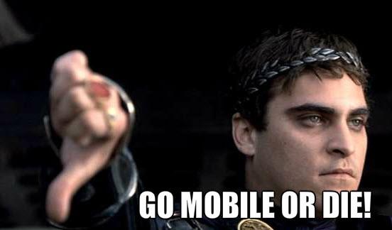 Mobile optimization meme