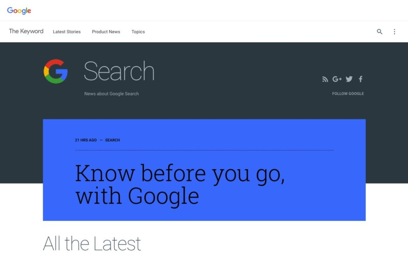 how to search blogs on google