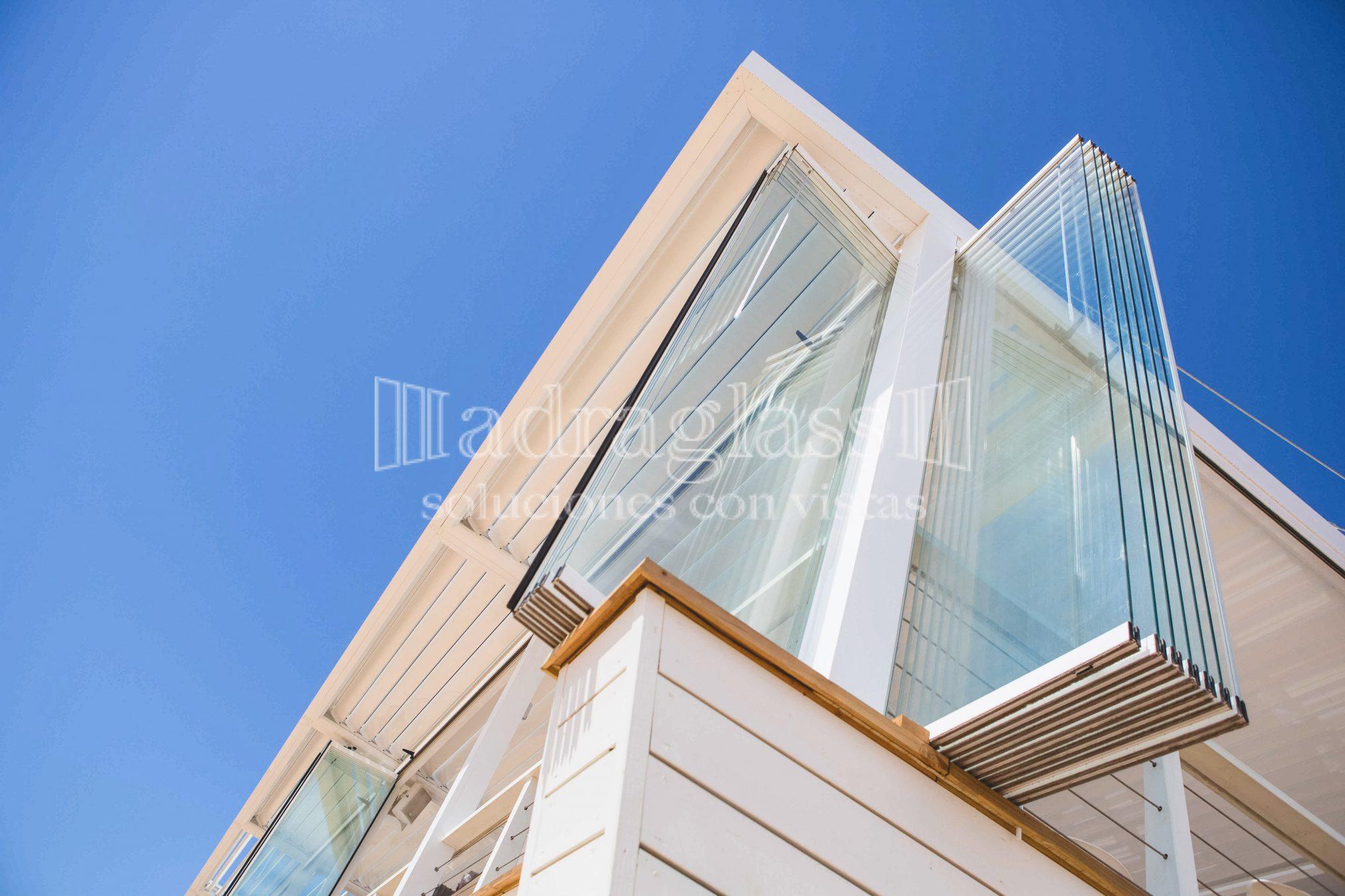 Adraglass  Cortinas de cristal para terrazas panormicas