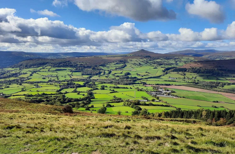 Walk in the Brecon Beacons: The Skirrid Mountain - A Dragon's Escape