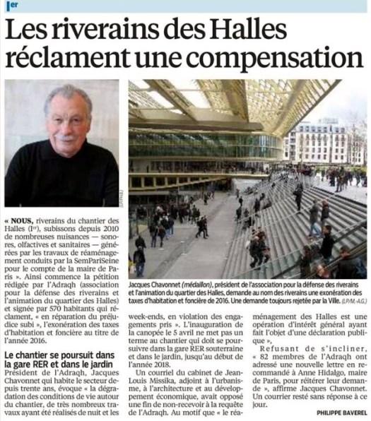 20160615_Le_Parisien_Les_riverains_des_Halles_reclament_compensation