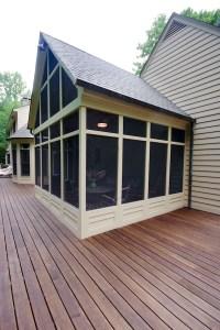 Baltimore Screen Porch Design Build Renovation Remodeling