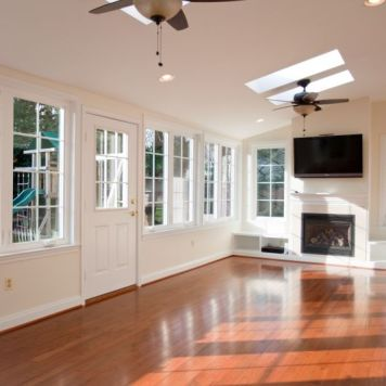 Baltimore Sunroom Renovation Remodeling Design Build